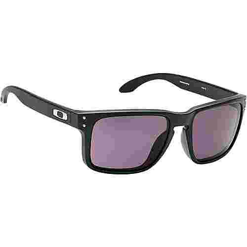 Oakley Holbrook Sonnenbrille matte black/warm grey
