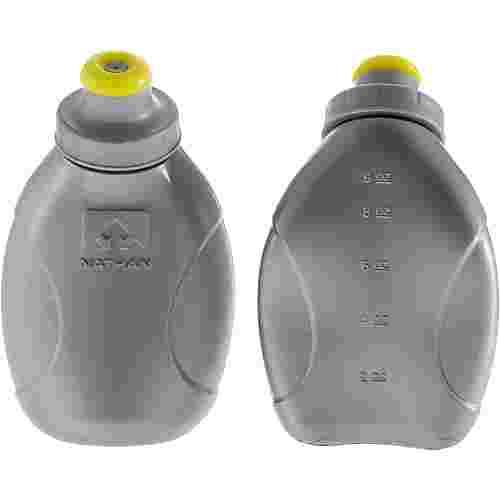 NATHAN Trinkflasche transparent