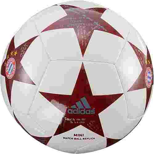 adidas FC Bayern Miniball weiß