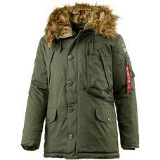Alpha Industries Polar Jacket Parka Herren oliv
