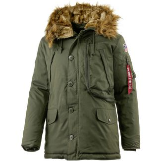 Alpha Industries Polar Jacket Parka Herren oliv