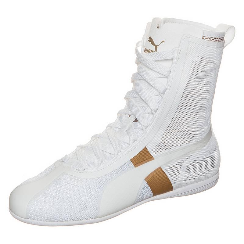 PUMAEskiva Hi EVO  SneakerDamen  weiß / gold