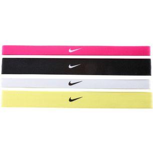 Nike Printed Haarband Damen VIVID PINK/BLACK/WHITE