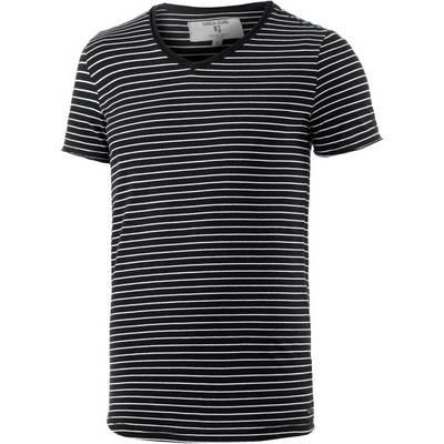GARCIA T-Shirt Herren schwarz/gestreift