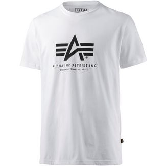 Alpha Industries T-Shirt Herren weiß