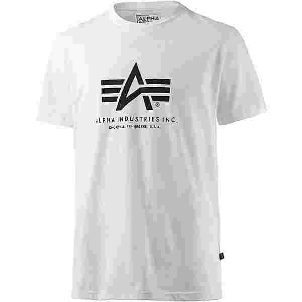 Alpha Industries T-Shirt Herren weiß