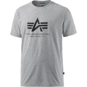 Alpha Industries T-Shirt Herren graumelange