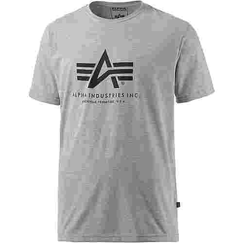 Alpha Industries T-Shirt Herren graumelange