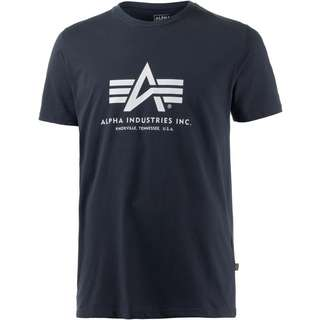 Alpha Industries T-Shirt Herren navy