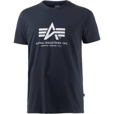 Alpha Industries Printshirt Herren navy