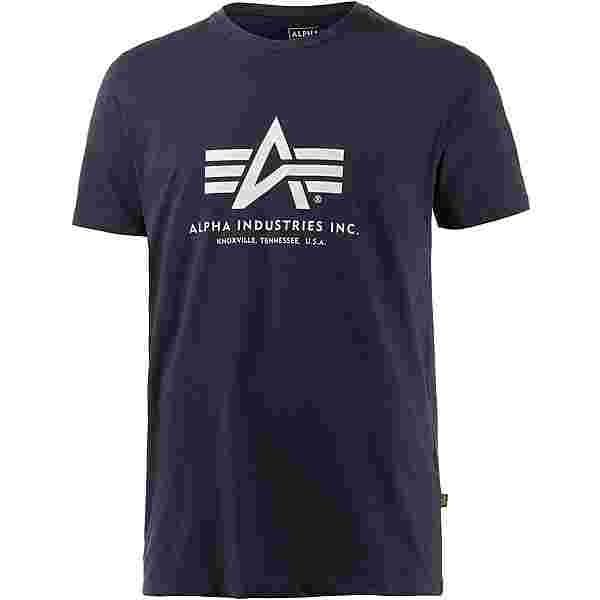 Alpha Industries T-Shirt Herren navy