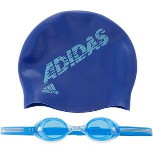 adidas Schwimmset Kinder blau