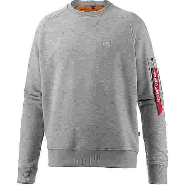Alpha Industries Sweatshirt Herren graumelange