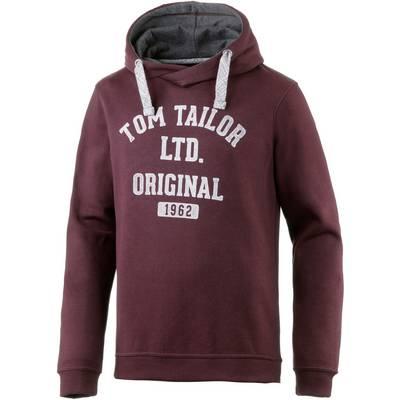 TOM TAILOR Sweatshirt Herren bordeaux