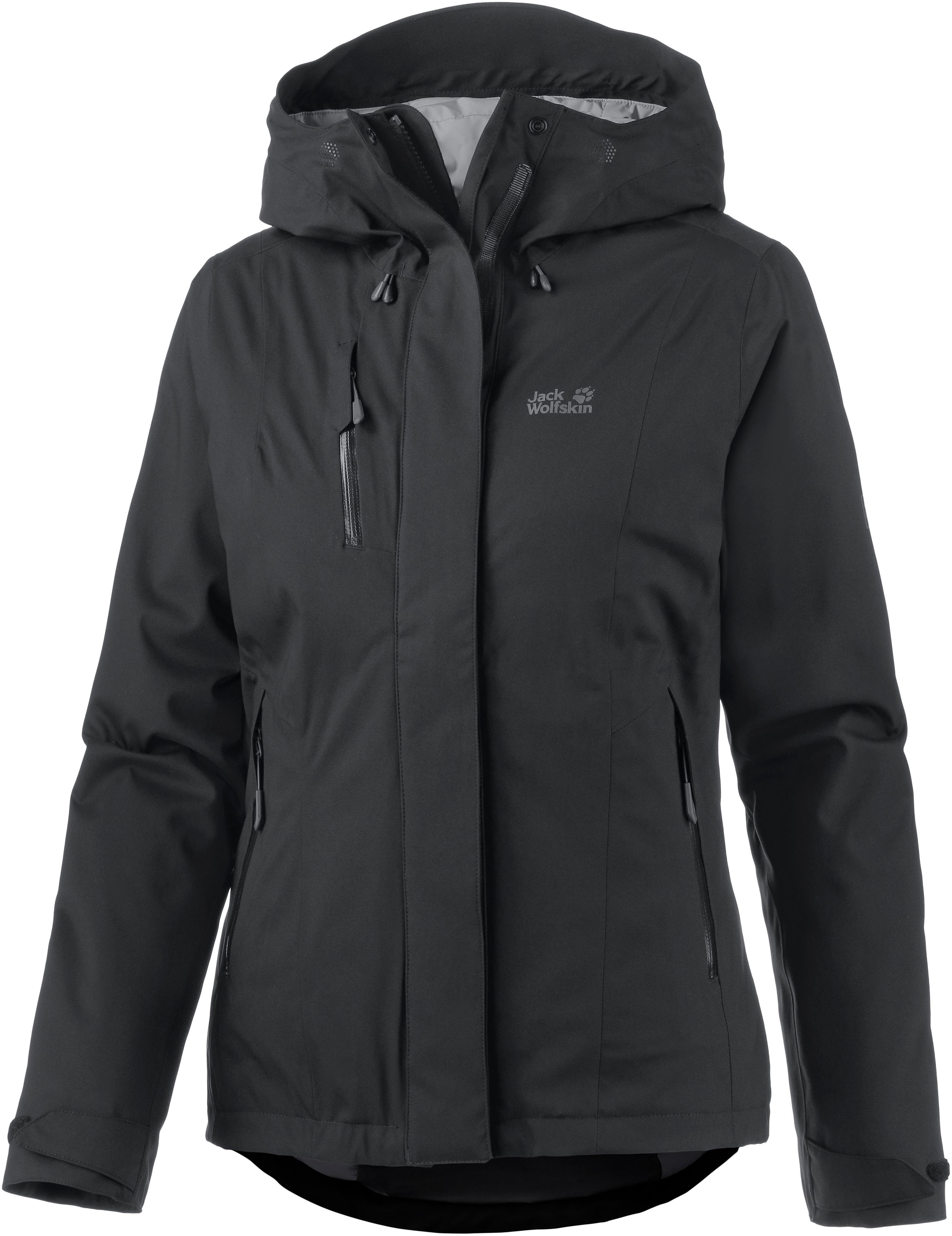 Jack Wolfskin Troposphere Daunenjacke Damen schwarz im Online Shop von SportScheck kaufen