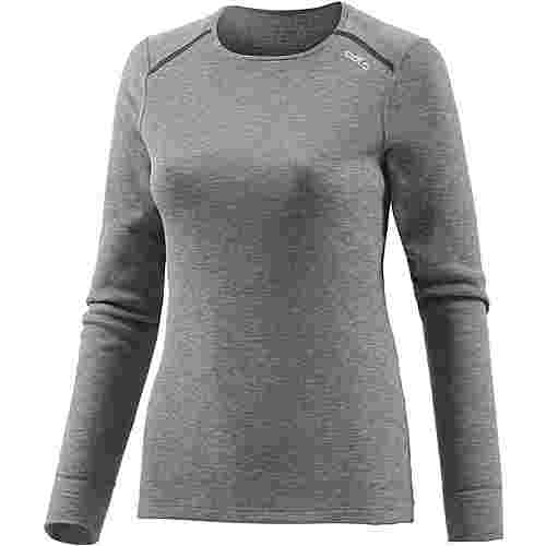Odlo Active Warm Funktionsshirt Damen grau