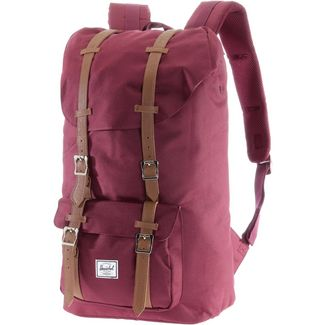 Herschel Rucksack Little America Daypack windsor wine-tan synthetic leather