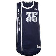 adidas Oklahoma City Thunder Durant Basketball Trikot Herren dunkelblau / weiß