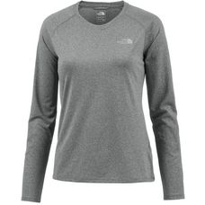 The North Face Reaxion Amp Crew Funktionsshirt Damen grau