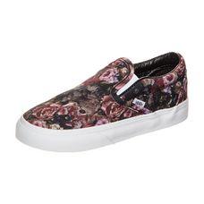 Vans Classic Slip-On Moody Floral Sneaker Kinder schwarz / bunt