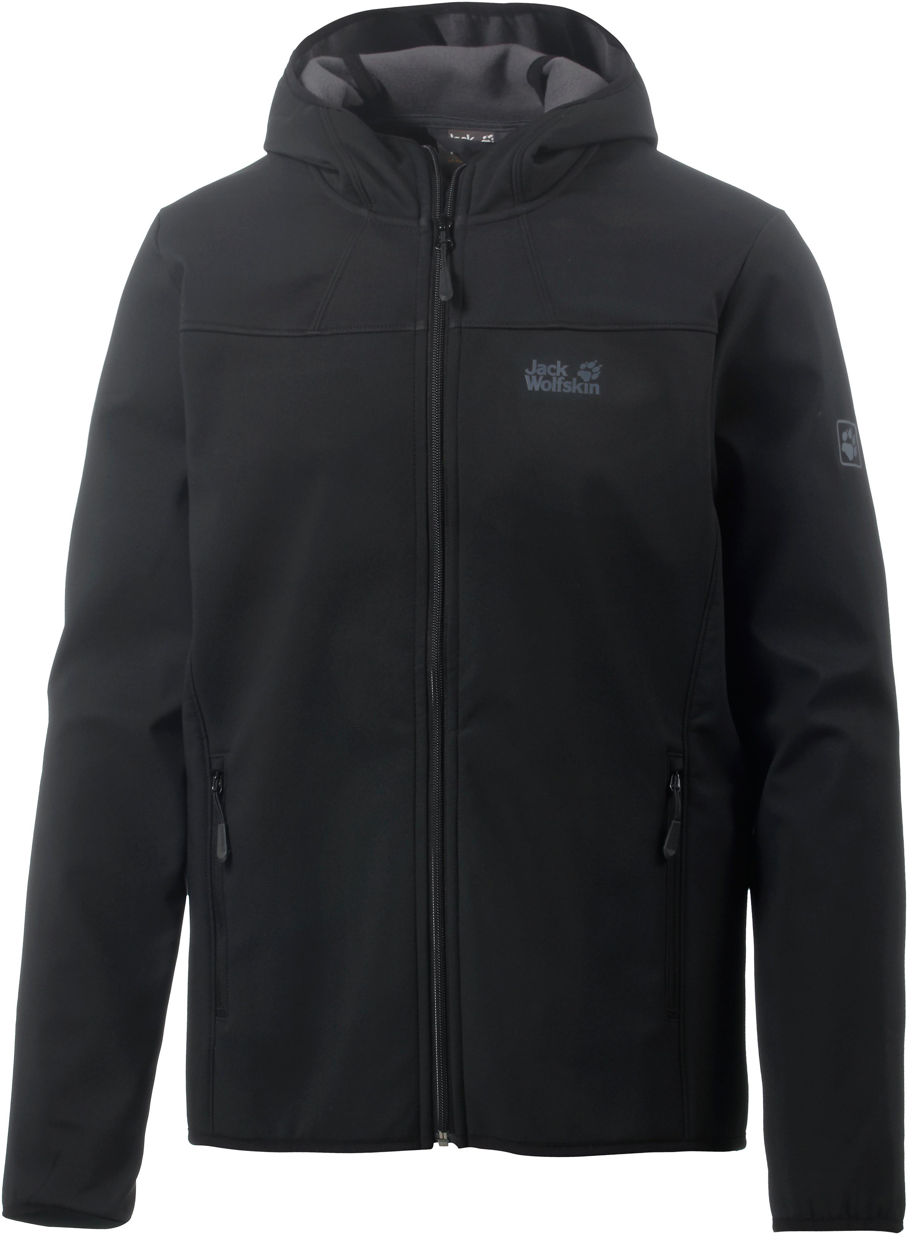 check out 997a6 a63ff Jack Wolfskin Northern Point Softshelljacke Herren schwarz im Online Shop  von SportScheck kaufen