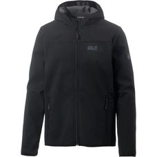 Jack Wolfskin Northern Point Softshelljacke Herren schwarz