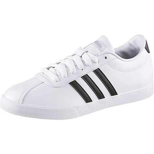 adidas Courtset W Sneaker Damen weiß/schwarz