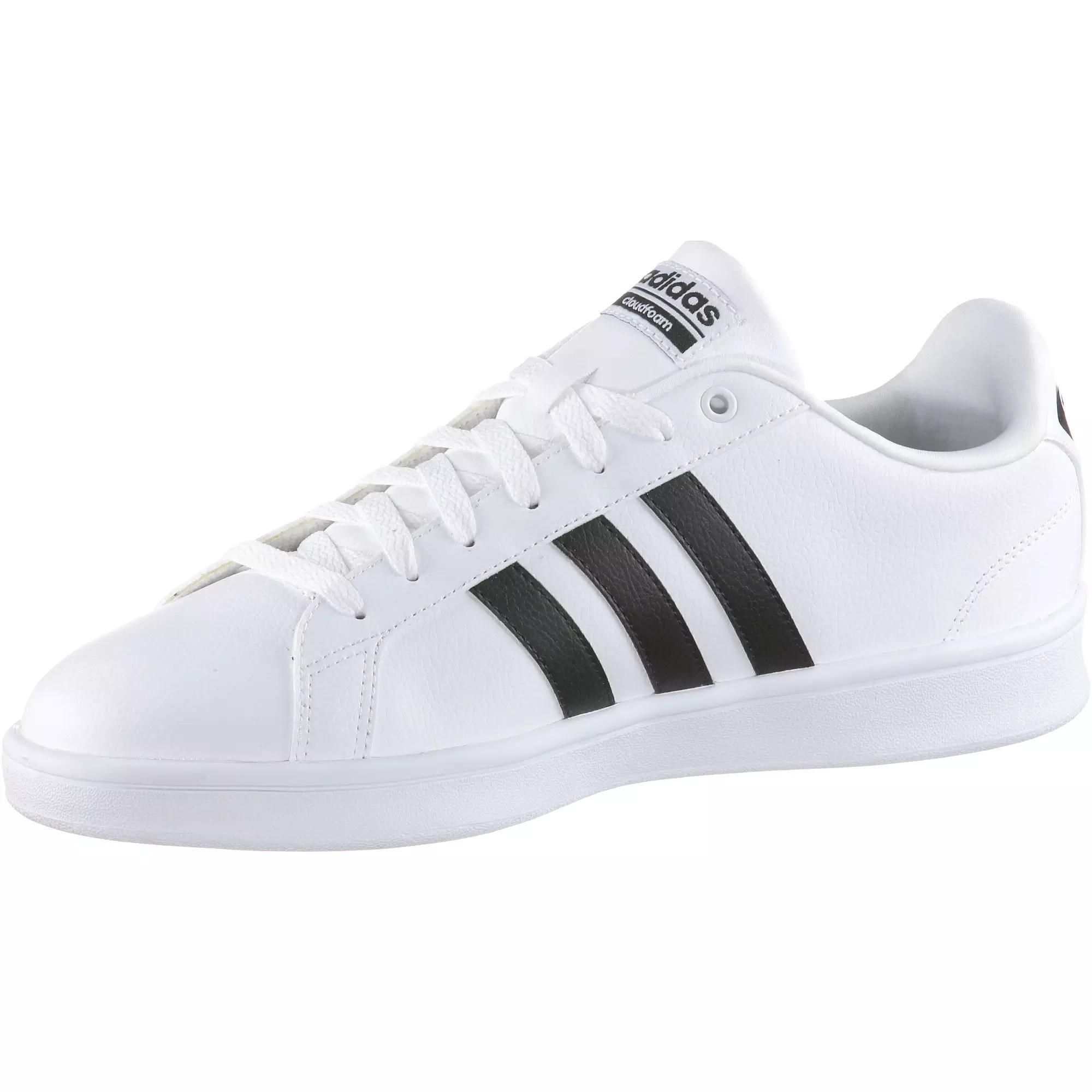 adidas CF ADVANTAGE Sneaker weiß/schwarz im Online Shop von SportScheck  kaufen