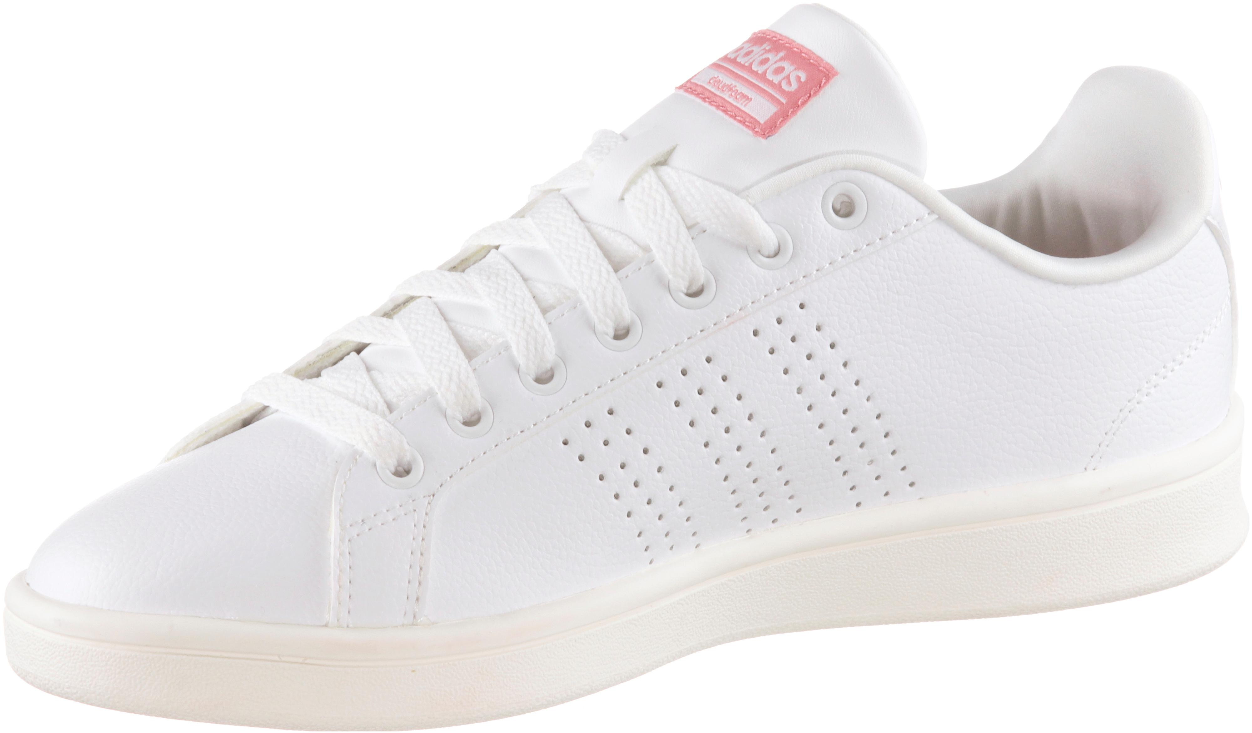 adidas CF ADVANTAGE Sneaker weiß-rosa im Online Shop von SportScheck kaufen