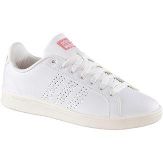 adidas CF ADVANTAGE Sneaker weiß-rosa