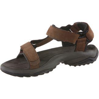 Teva Terra Fi Lite Leather Outdoorsandalen Herren braun