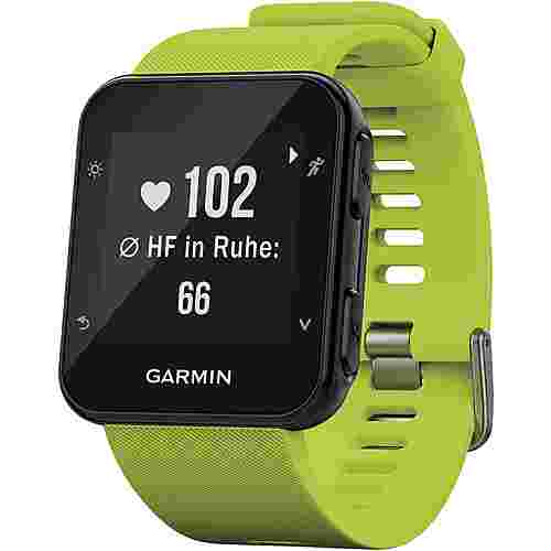 garmin forerunner 35 sportuhr lime im online shop von. Black Bedroom Furniture Sets. Home Design Ideas