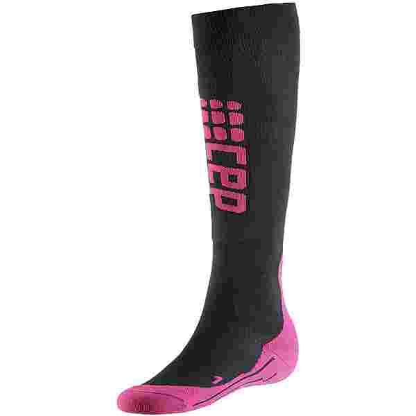 CEP Ski Ultralight Skisocken Damen black/pink