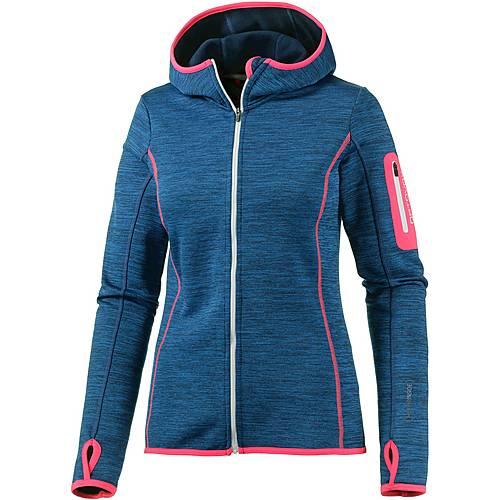 ortovox melange fleecejacke damen blau im online shop von sportscheck kaufen. Black Bedroom Furniture Sets. Home Design Ideas