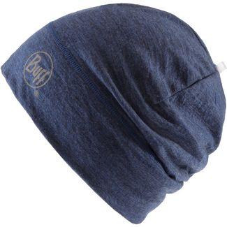 BUFF Merino Wool 1 Layer Hat Beanie dunkelblau