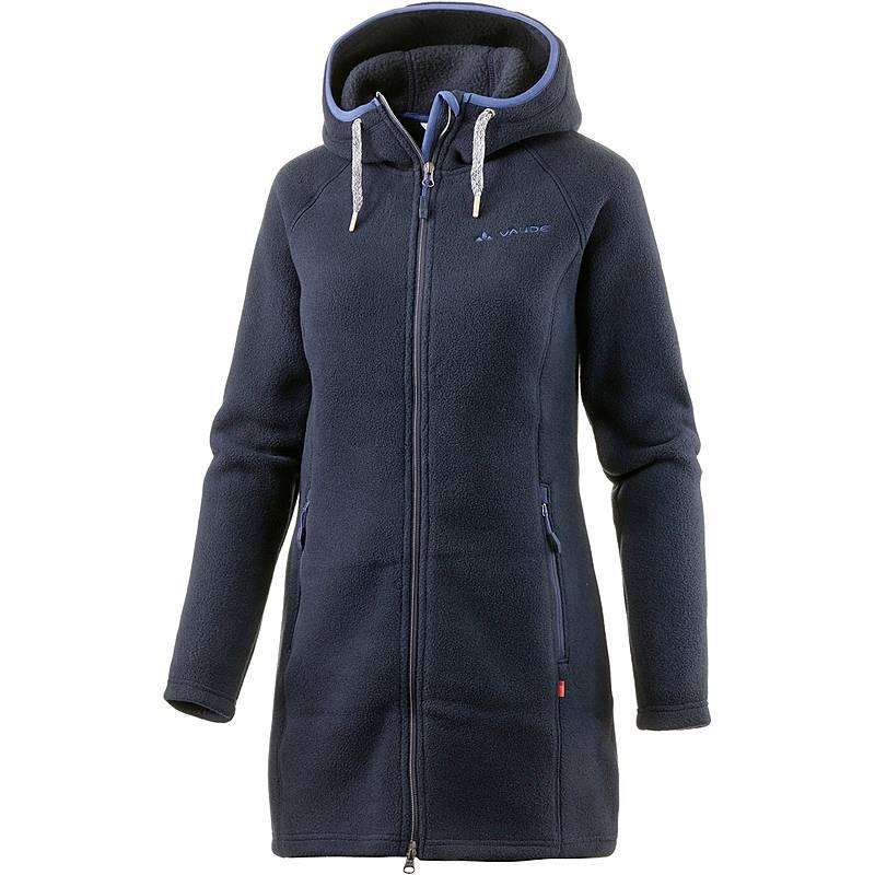 VAUDE Torridon Fleecemantel Damen marine im Online Shop von ... d65656b4b0