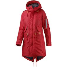 Alpha Industries Parka Damen rot