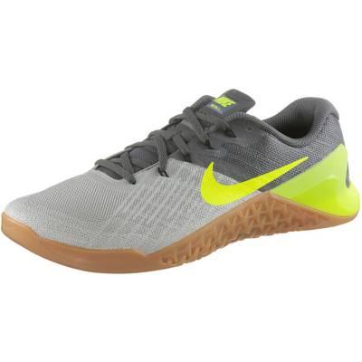 Nike Metcon 3 Fitnessschuhe Herren grau/grün