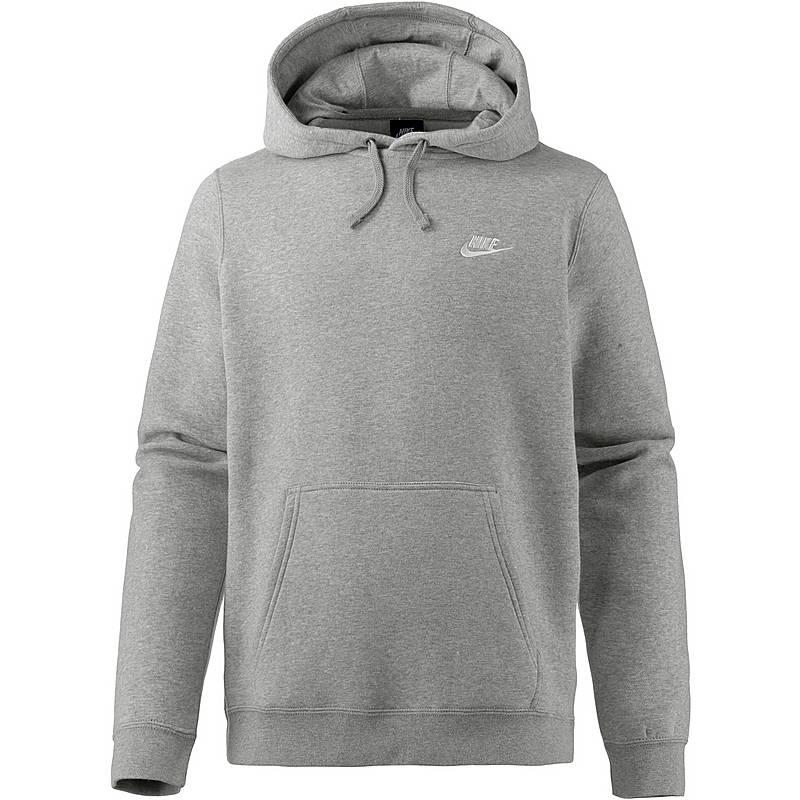 Nike NSW Club Po BB Hoodie Herren grau im Online Shop von ... db4d285ce7
