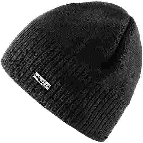 Eisglut Mütze Ben Merino Beanie schwarz