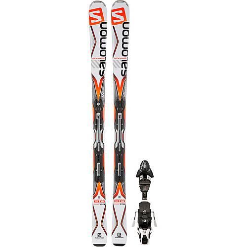 Salomon X Drive 8.0 TI + MXT 12 All Mountain Ski weißorange