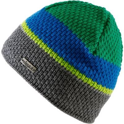 Eisglut GONZO KIDS REFLECTIVE Beanie Kinder grau/ grün/ blau
