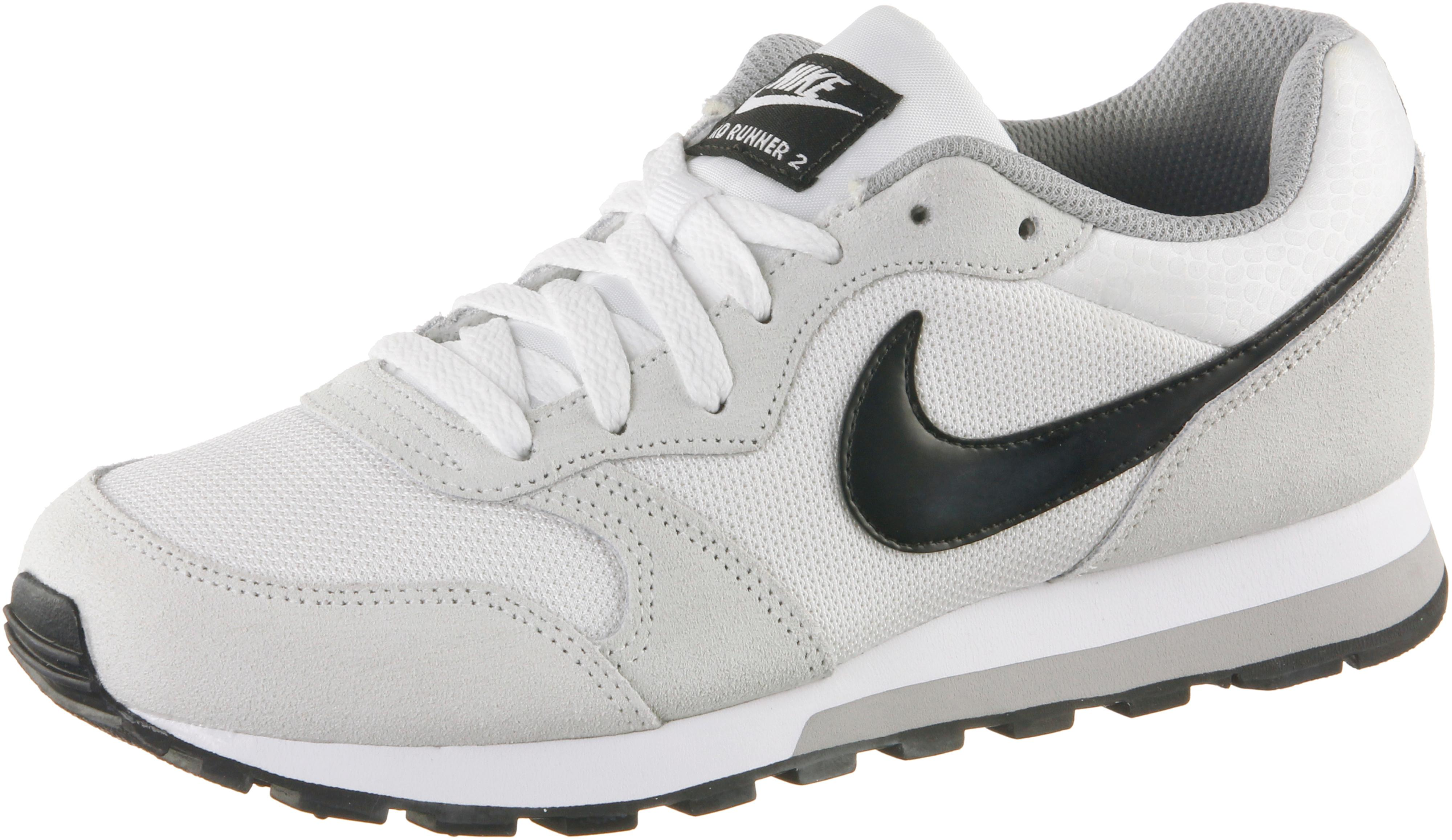 nike md runner 2 damen weiß