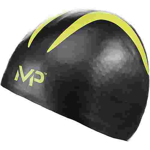 MP Michael Phelps X-O Badekappe schwarz gelb