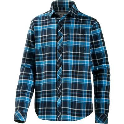 Billabong Henderson Langarmhemd Herren blau/schwarz
