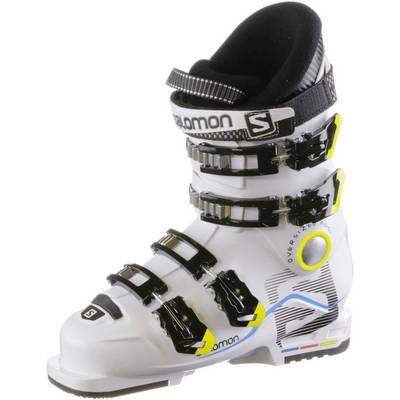 Salomon X Max 60 T Skischuhe Kinder weiß/schwarz