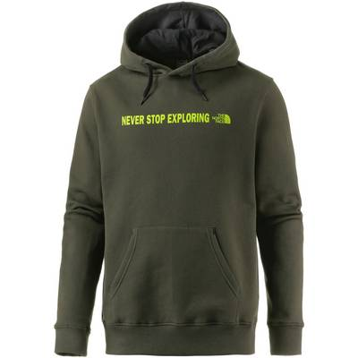 The North Face Open Gate Hoodie Herren oliv