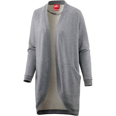 Nike Sweatjacke Damen grau
