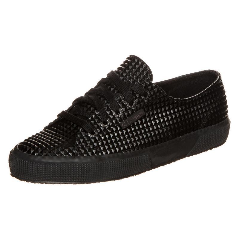 Superga 2750 RBRPYRAMIDU Sneaker Damen, schwarz, schwarz