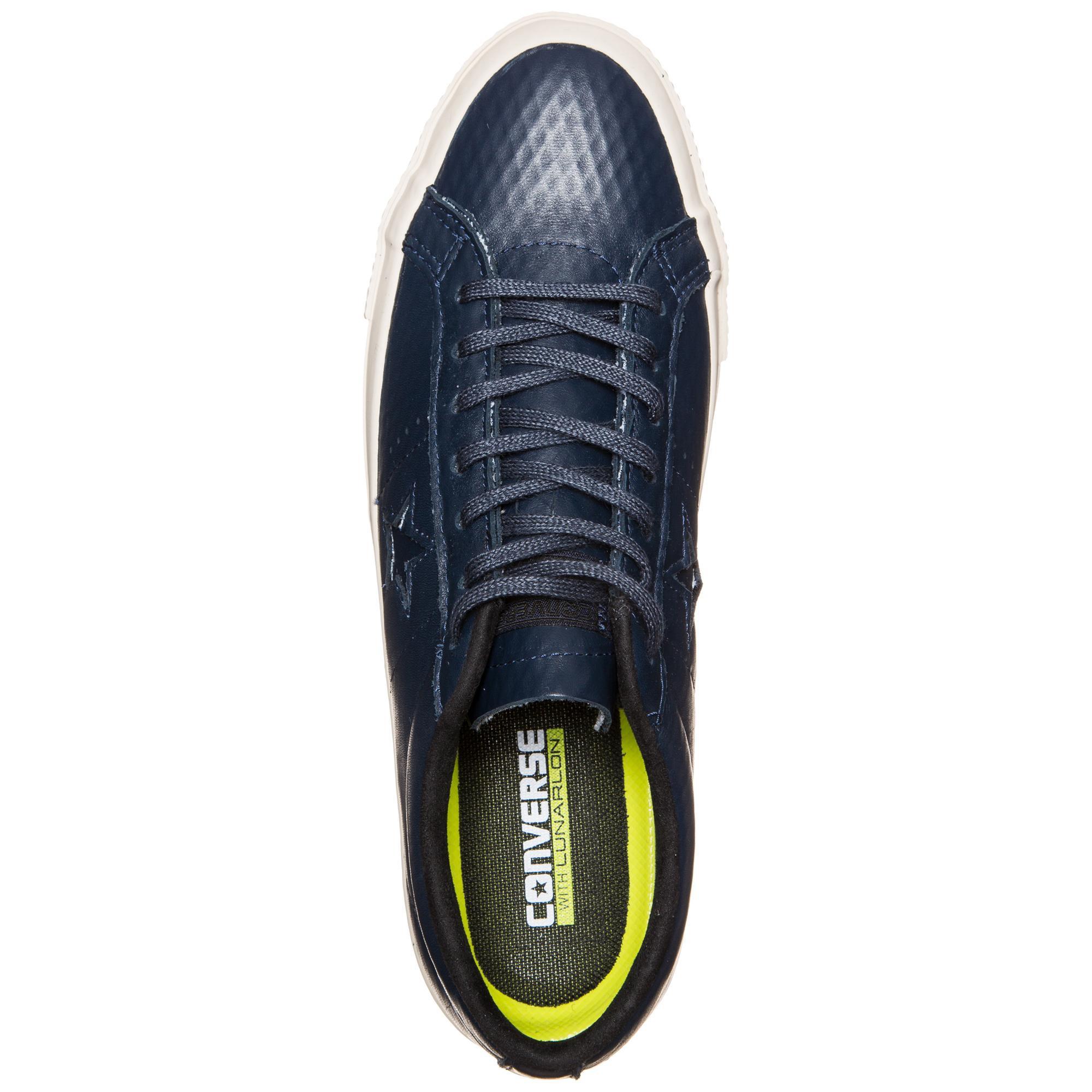 CONVERSE Cons One Star Leder Turnschuhe / dunkelblau / Turnschuhe creme im Online Shop von SportScheck kaufen Gute Qualität beliebte Schuhe 28d3b0